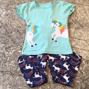 Unicorn Cotton PJs